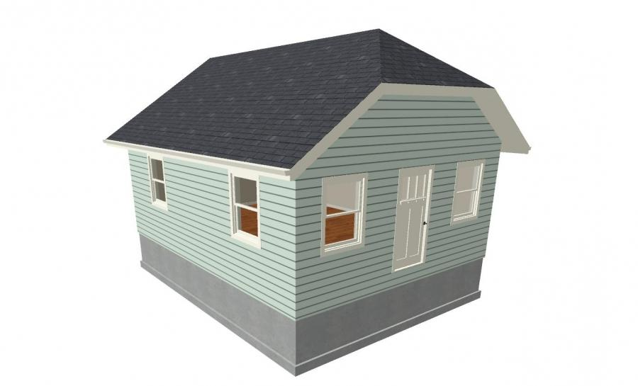 Dutch hip roof photos for Jerkinhead roof construction