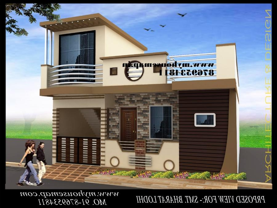 Sample Front Elevation Machine : Front elevation of house in india photos samples