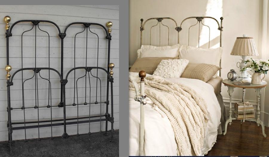 Photos Of Antique Iron Beds
