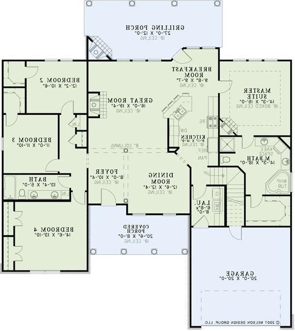Northridge house plan photos for Chatham house plans