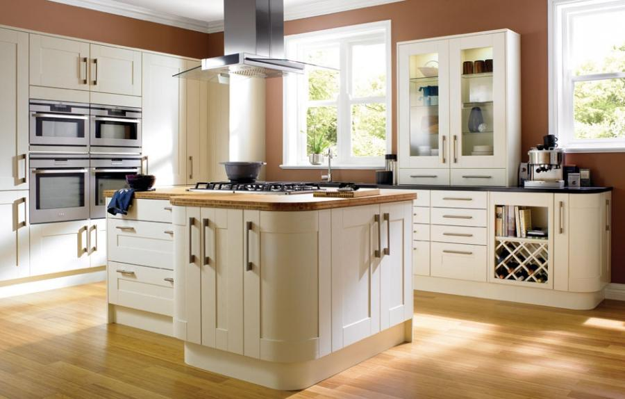 Wickes fitted kitchens: Tiverton Bone