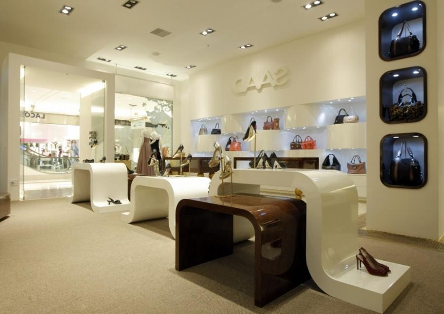 Cloth shop interior design photos