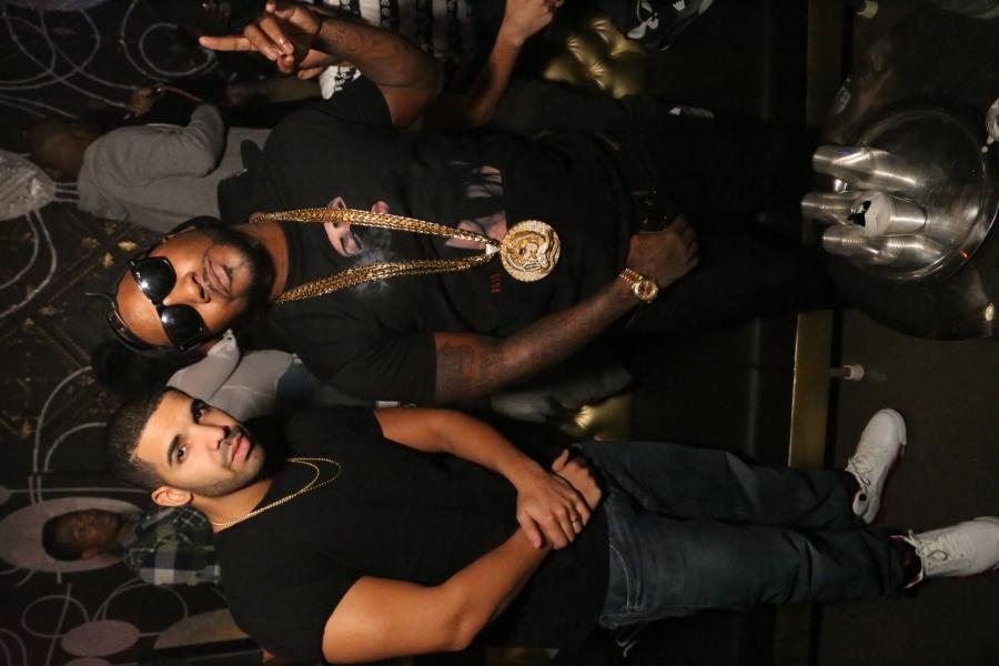 Young Jeezy  Drake attend The Gold Standard at ATLu Aurum...