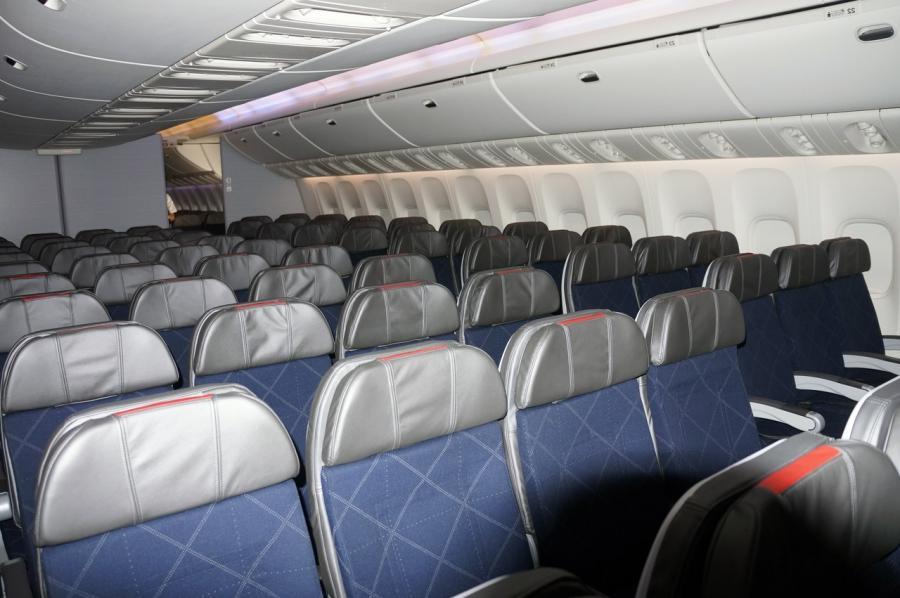 Boeing 777 Photos Interior