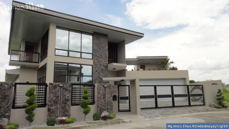 Modern house design photos philippines for Minimalist home designs philippines