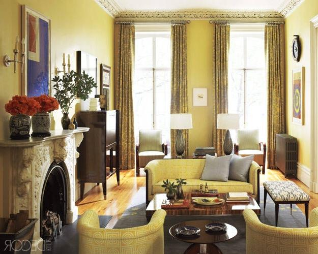Sheila Bridges Updates A Victorian Townhouse ELLE DECOR Source