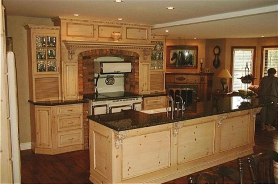 Pine Kitchen Cabinet Gallery Photos