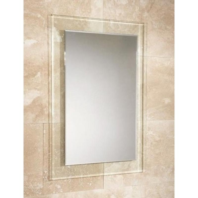 bevelled edge mirror glass photo frames