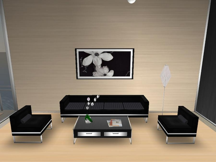Simple living room photos for Aleso3d interior 026 lounge room