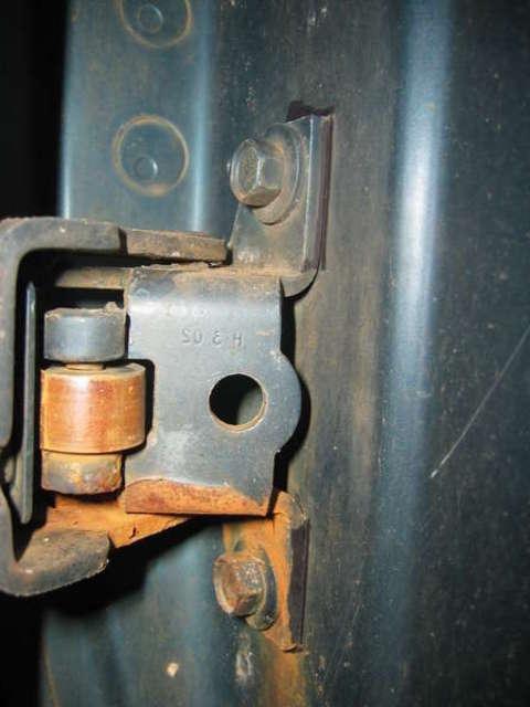 Car Door Hinge Photo