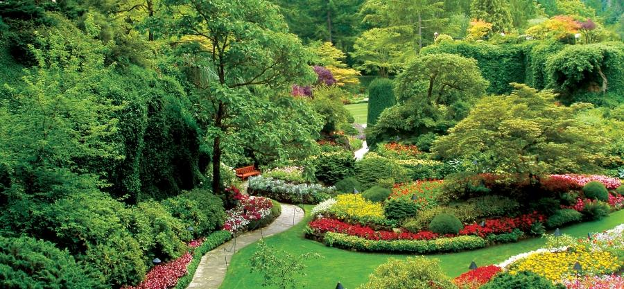 Sunken Garden, Butchart Gardens photo Sunken Garden at the...
