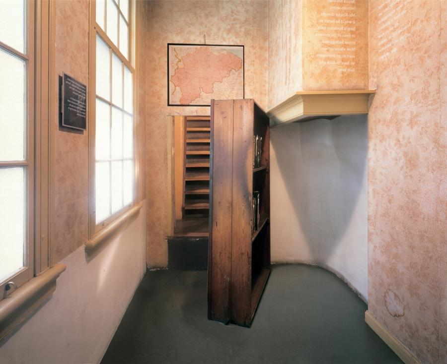 Photos inside anne frank house