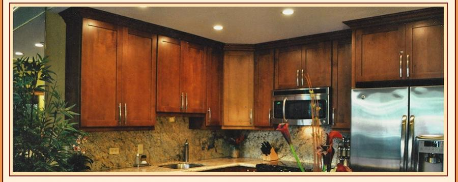 ... in-stock kitchen cabinets made of solid wood. Most cabinets...