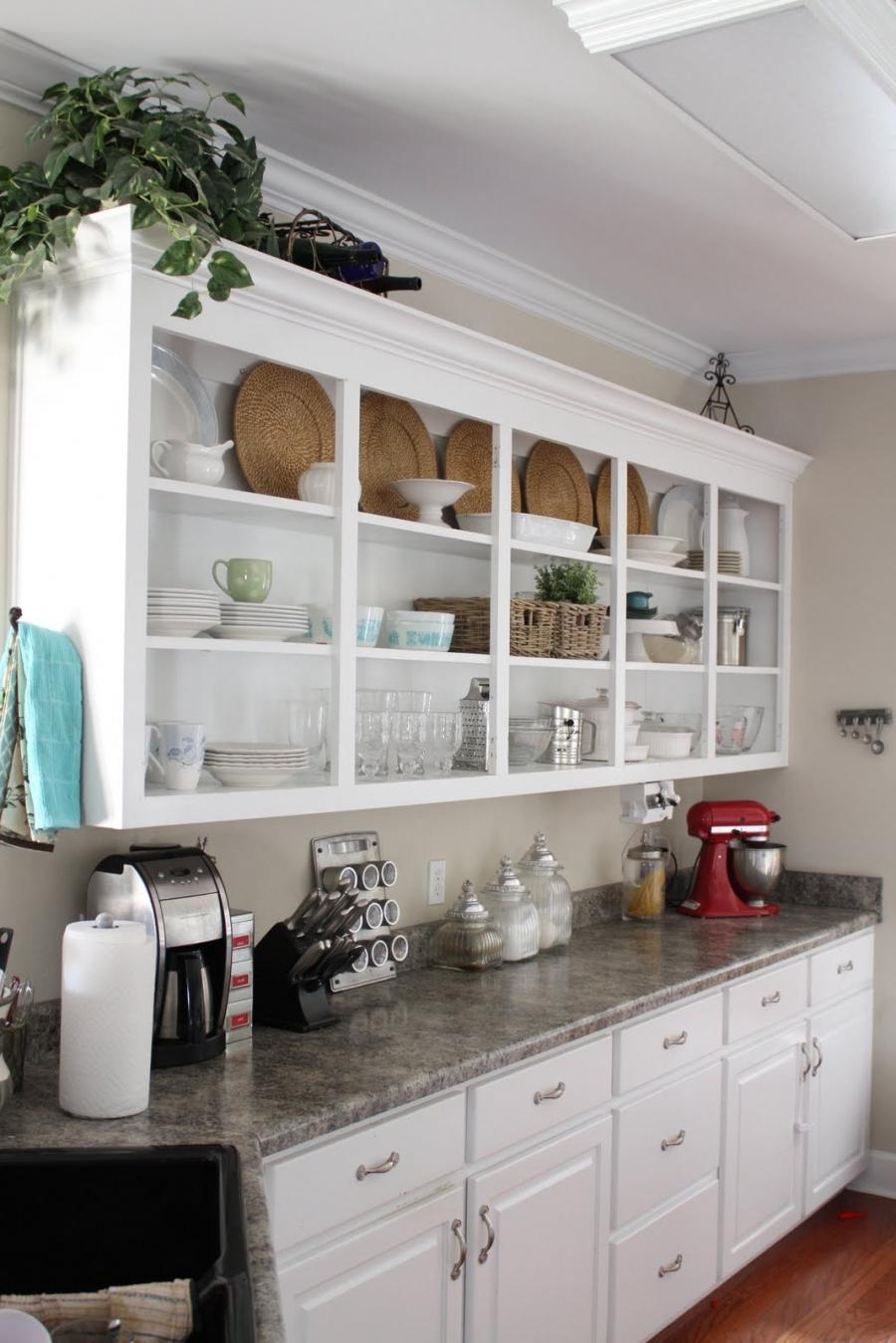 Open Kitchen Shelving Photos