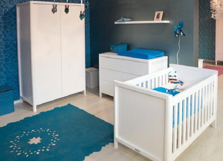 Photo decoration chambre bebe-garcon - bleu