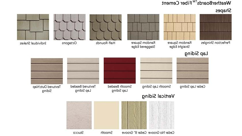 Siding styles photos for Siding styles and colors