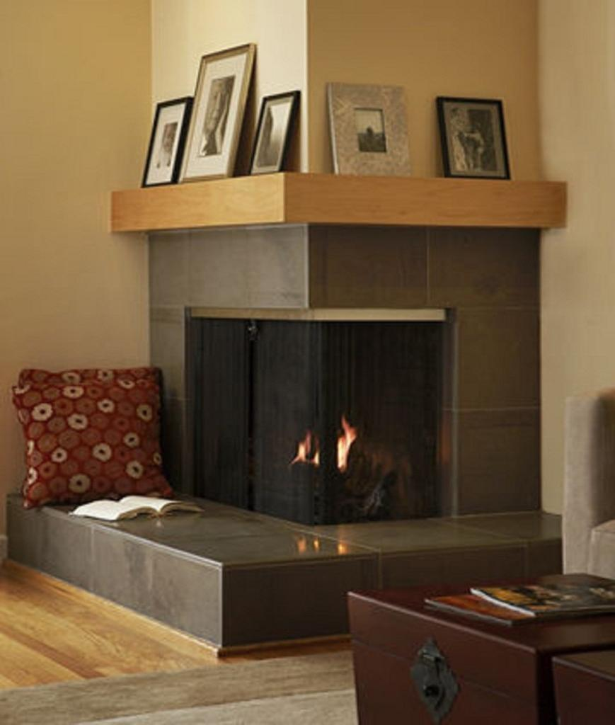 Initially nook fireplaces were designed for the lounge and still...