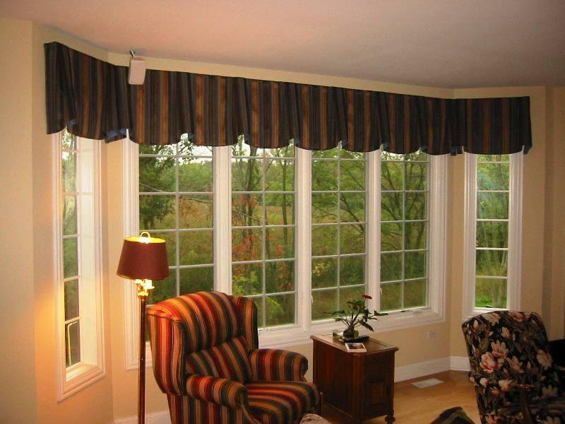 Dining room valance photos for Valances for dining room windows