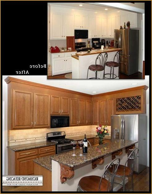 Kitchen Cabinet Refacing Richmond Refacing Richmond VA Source