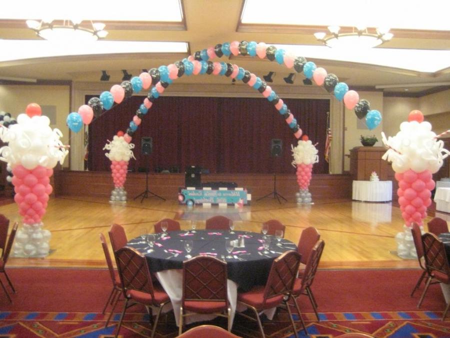 Photos balloon decoration for Balloon decoration course