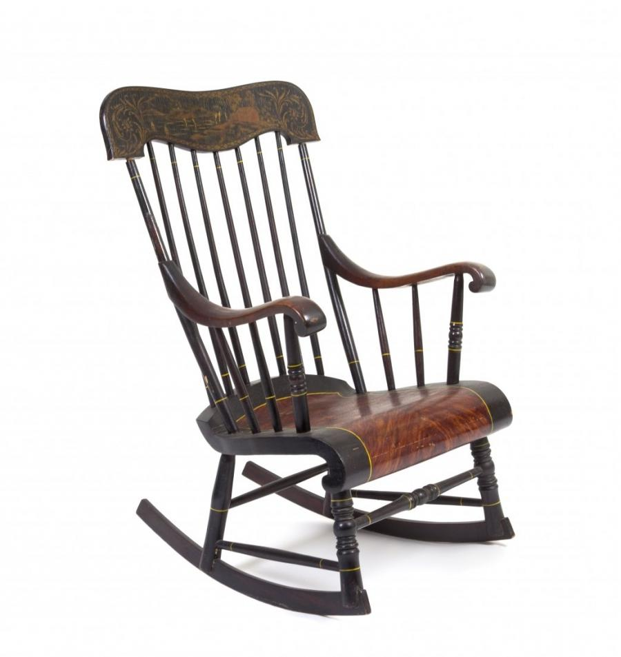 Photos of old rocking chairs