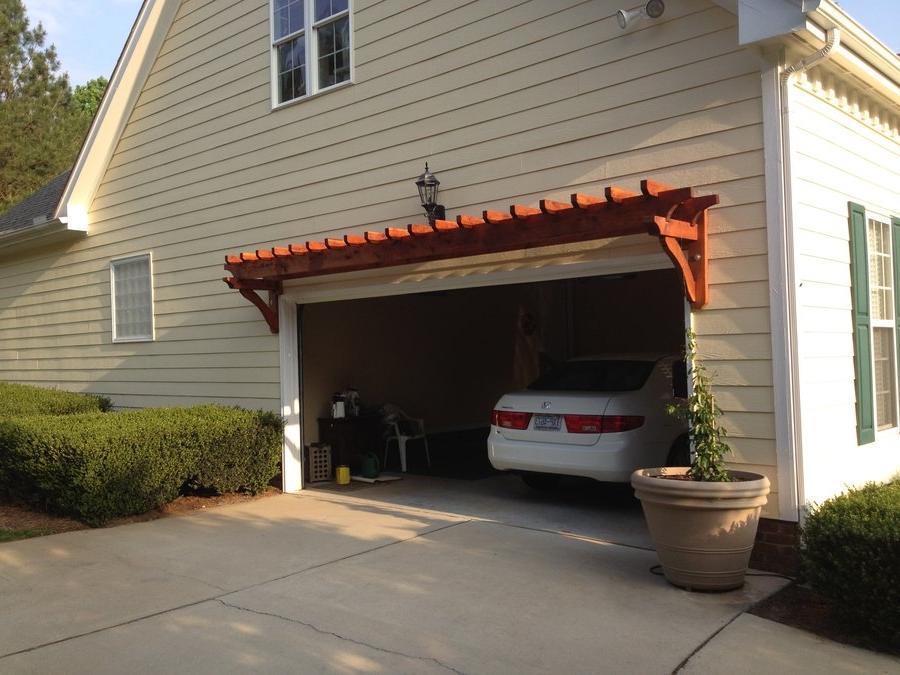 garage pergola photos