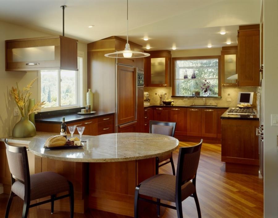 Kitchen Peninsula Design Photos