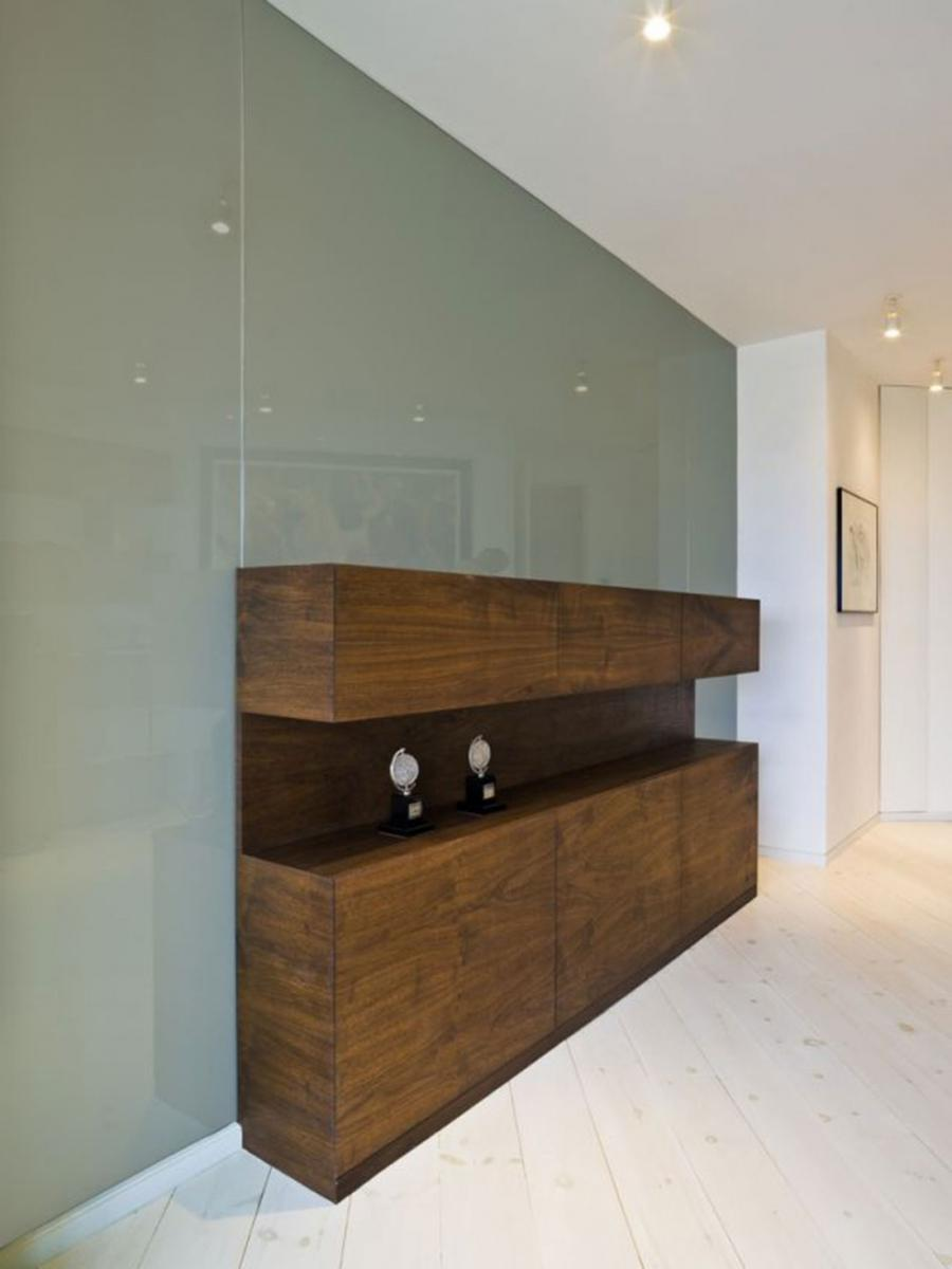 New York City apartment cabinet design