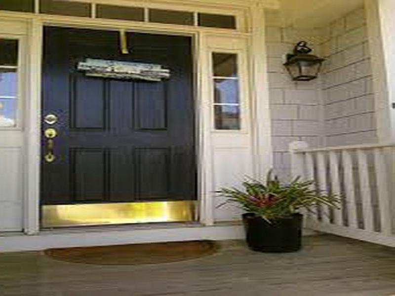 Exterior Door Trim Photos