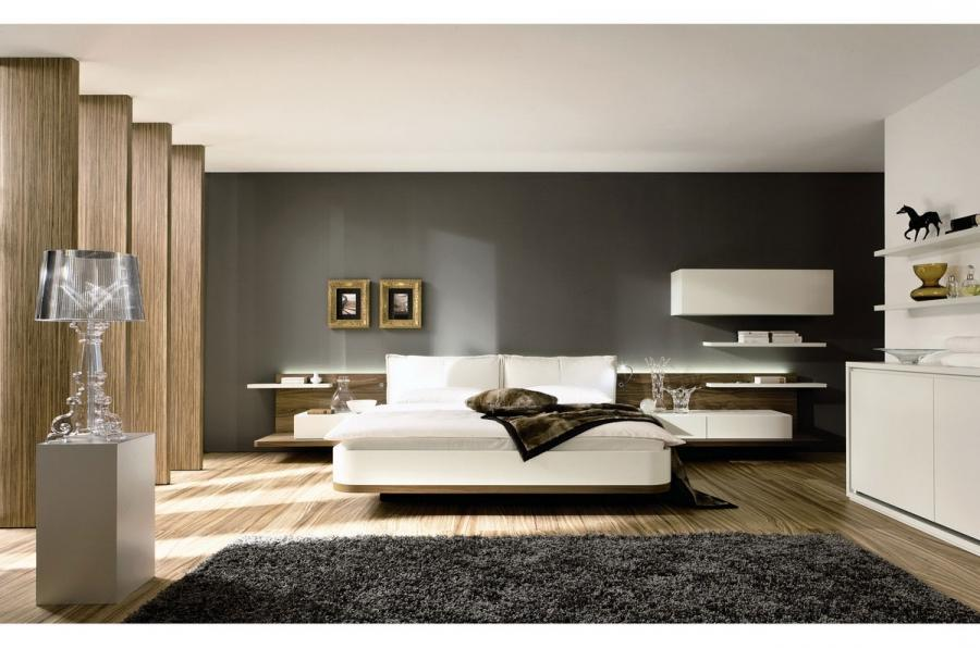 Bedroom, Terrific Wall Mount Bed For Modern Bedroom Interior...