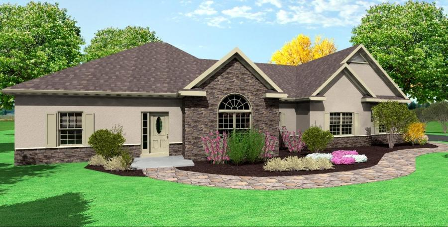Ranch style homes solutions for a remodeled ranch u2013 submit - Photo Ranch House