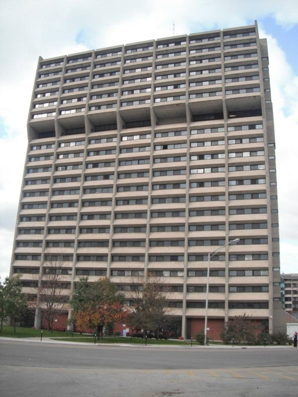 Indy (Chatham Arch) u2013 Barton Towers are a stardard brutalist...