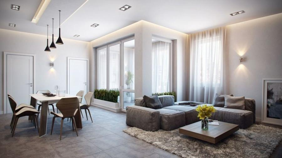 ... interior design apartment modern ...