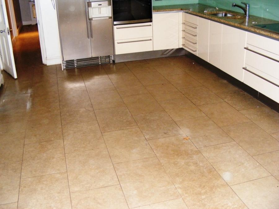 Kitchen Flooring 2014 u2013 Limestone Kitchen Floor Tiles Before...