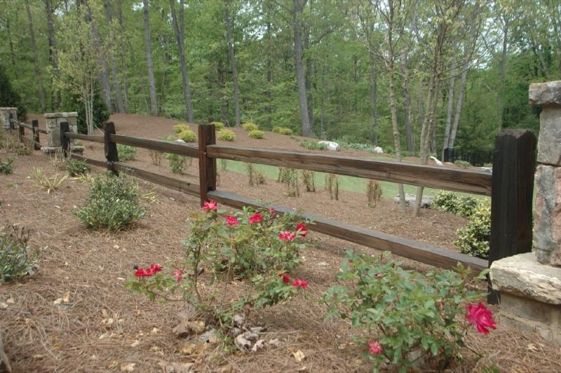 Rustic Wooden Fence Photos