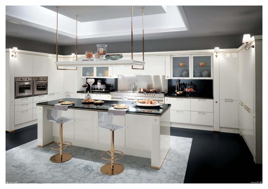 Italian Kitchen Design Photo