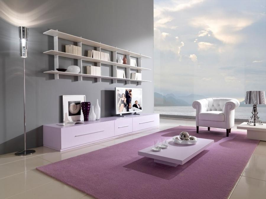... minimalist living room decor with well furnished furniture...