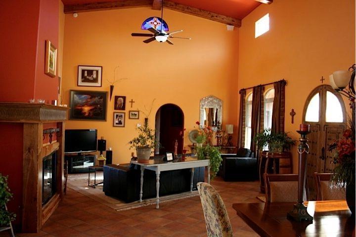 Southwestern Living Room Photos
