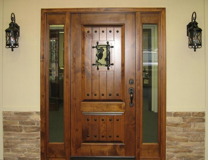 Exterior wood doors photos for French country entry doors