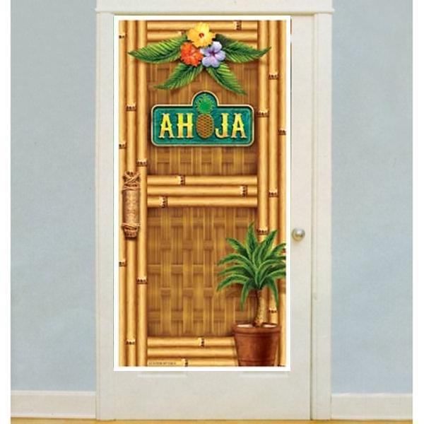 Tropical Photo Door Banner