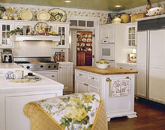 Photos of french country cottages for French country cottage kitchen ideas