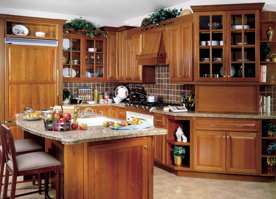 Photos non traditional kitchen furniture instead of cabinets