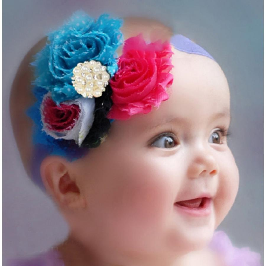 cute baby photos in flowers