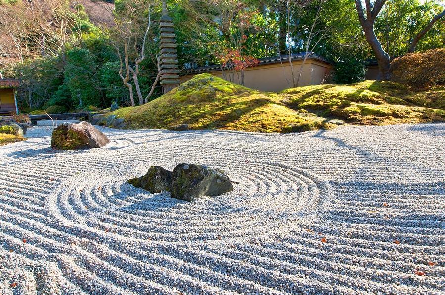 how to make your own zen garden