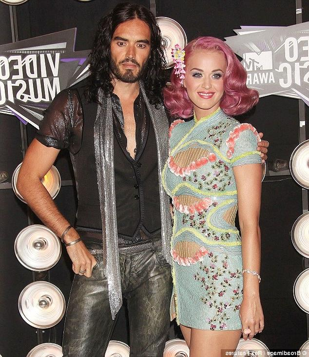 Happier times: Katy and Russell had planned to make the historic...