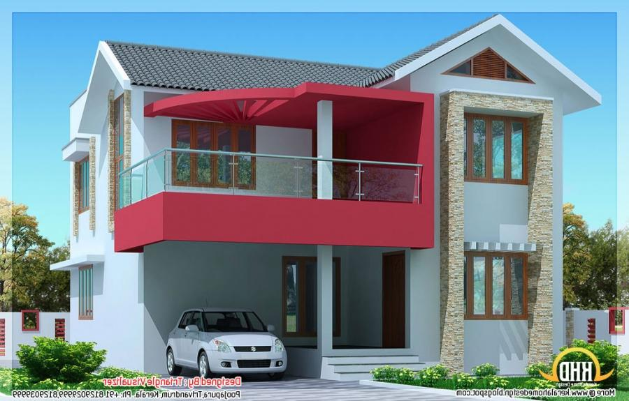 Yards Simple Modern House Design By Triangle Visualizer...