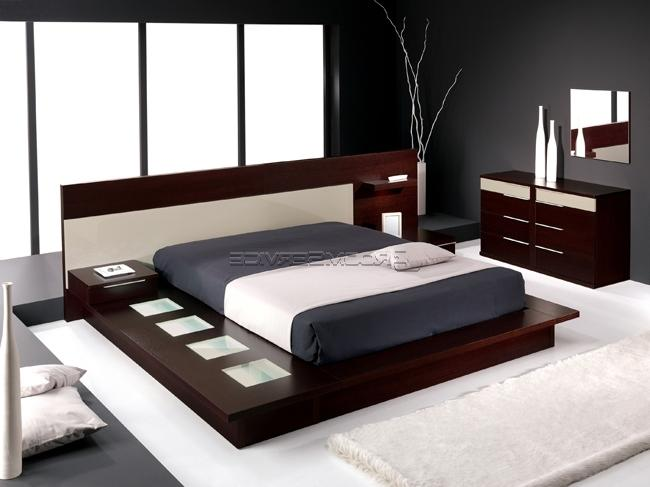 Photo gallery contemporary bedrooms for Affordable furniture source