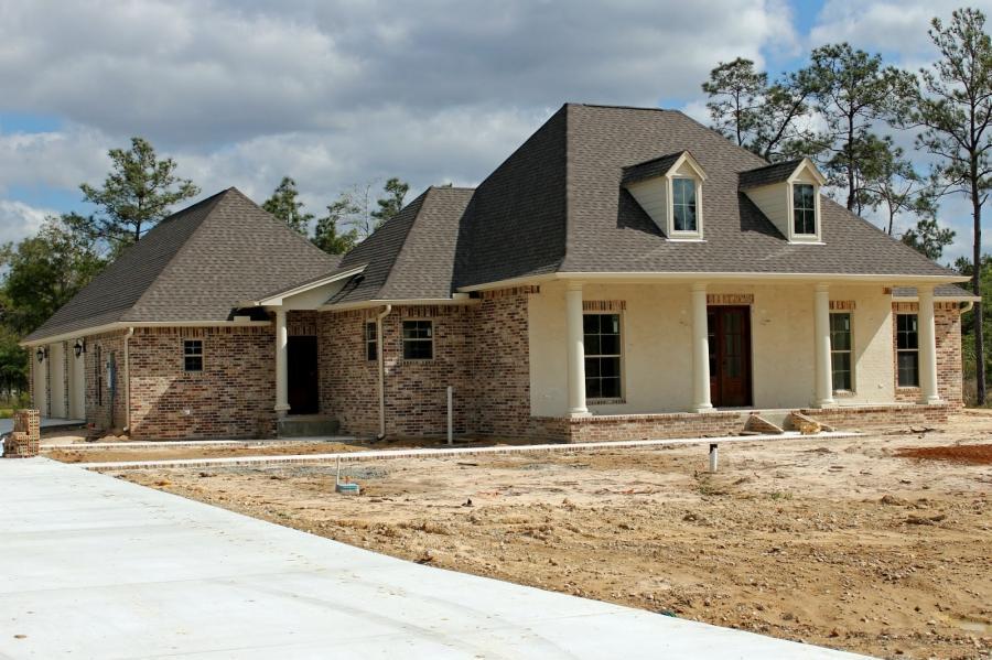 House photo acadian for C m custom homes