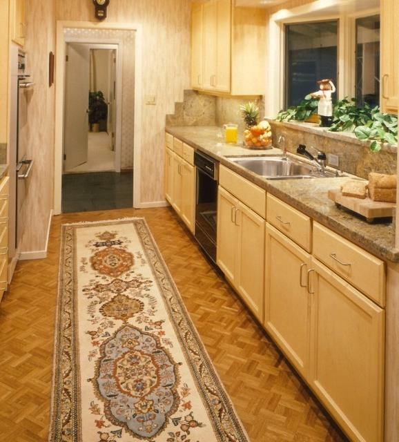 Eclectic Corridor Kitchen eclectic-kitchen