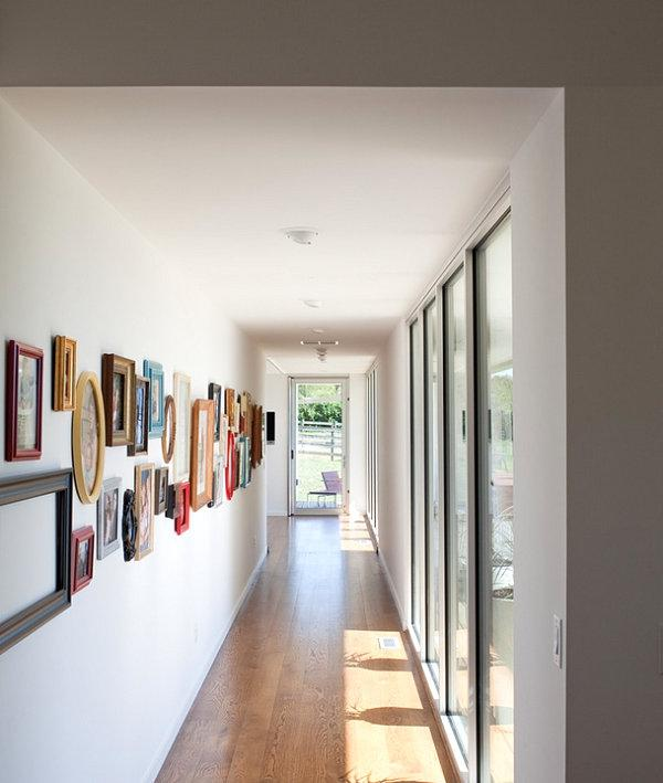 gallery style hallway Hallway Layout Suggestions For Your...